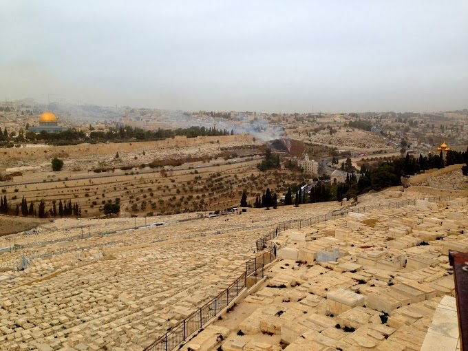 View at Mount of Olives