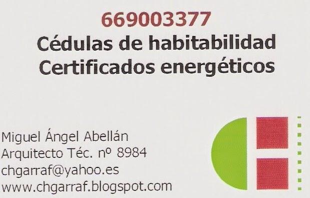 Certificados energéticos.