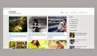 Fixedbee Blogger Template ini adalah template blogspot berbasis responsive. Tema blog ini didesain dengan sentuhan modren dengan tampilan yang bersih/clean dan elegant. Tampilan yang berbentuk theme galery ini sangat cocok untuk portofolio blog.