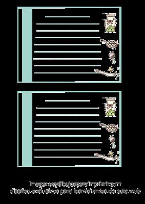 papel de cocina para imprimir