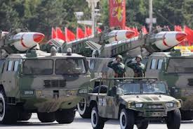 China has become the fifth largest arms exporter in the world.