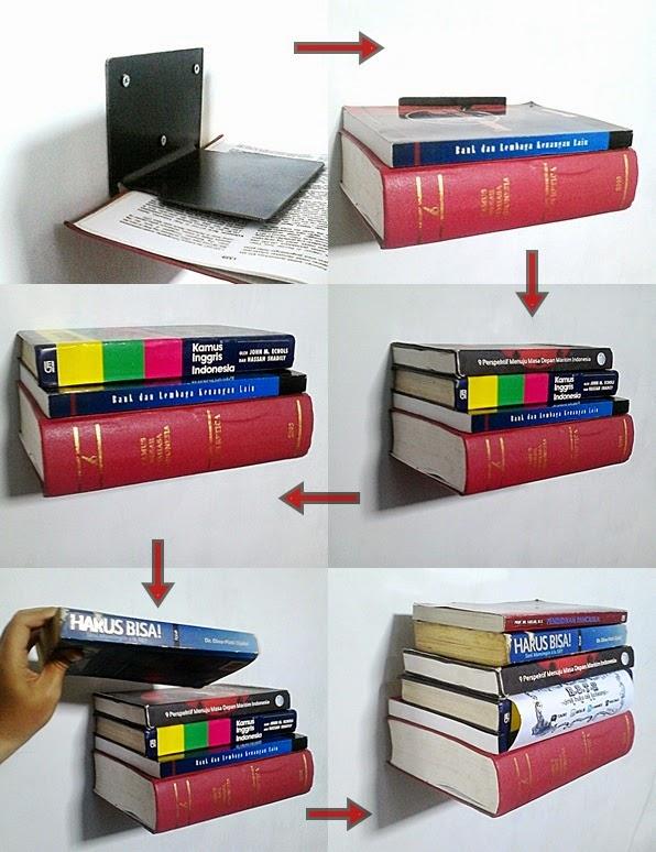 Jual Rak Buku Minimalis dan Unik