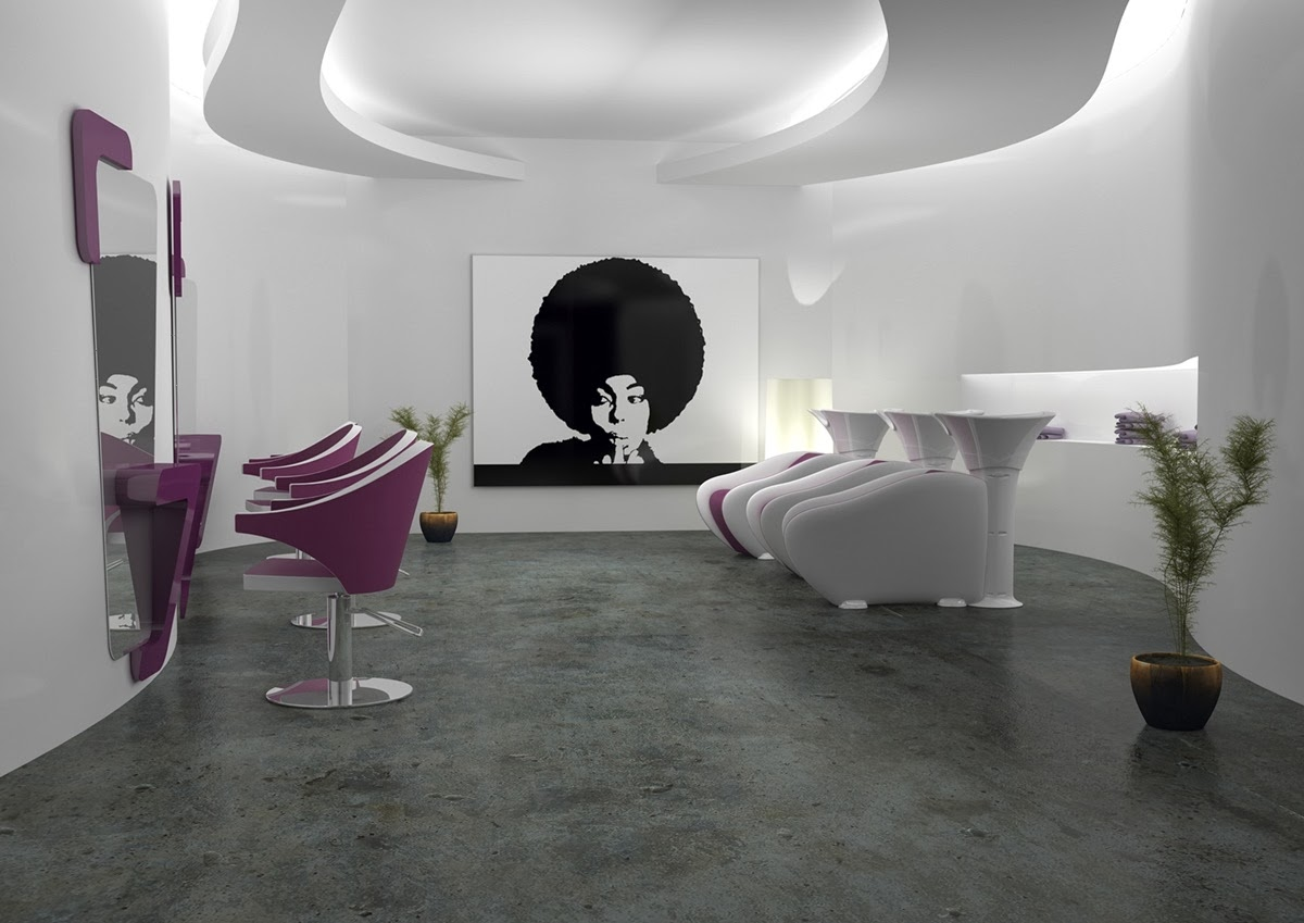 Estetica parrucchieri solarium illuminazione come for Progettare un salone