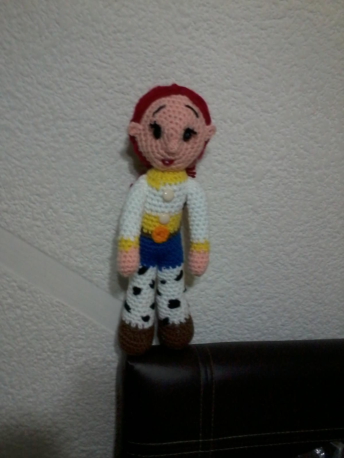 Amigurumi Toy Story : NOVEDADES JENPOALI: PATRON JESSIE TOY STORY AMIGURUMI