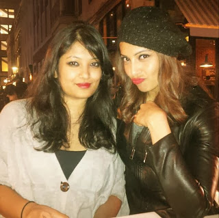Bipasha Basu Spotted with her sister Vijayeta in London