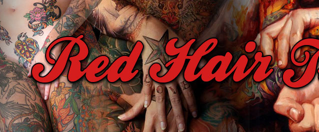 Tattoo, Body Art, Body Modification, Homens Tatuados, Mulheres Tatuadas e Música | Red Hair Tattoo