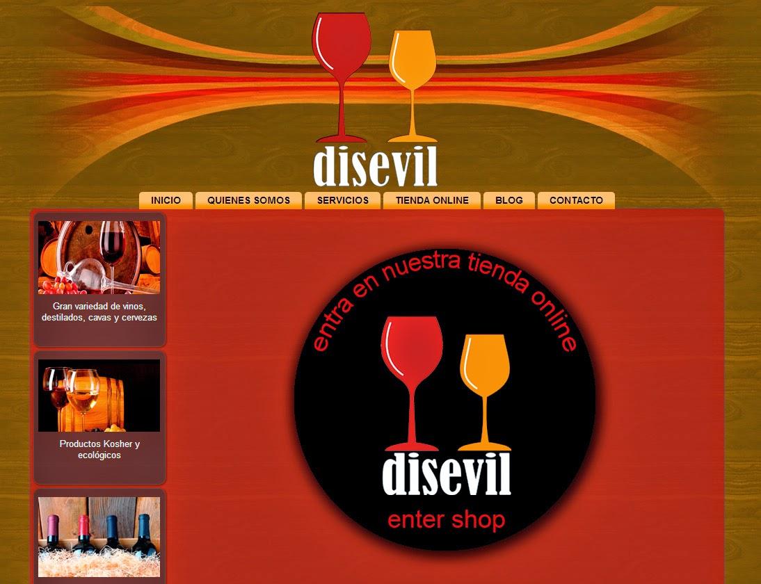 Disevil_Tienda online de vino y licores