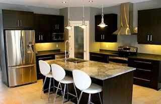 Contemporary Interior Design Style Kitchen
