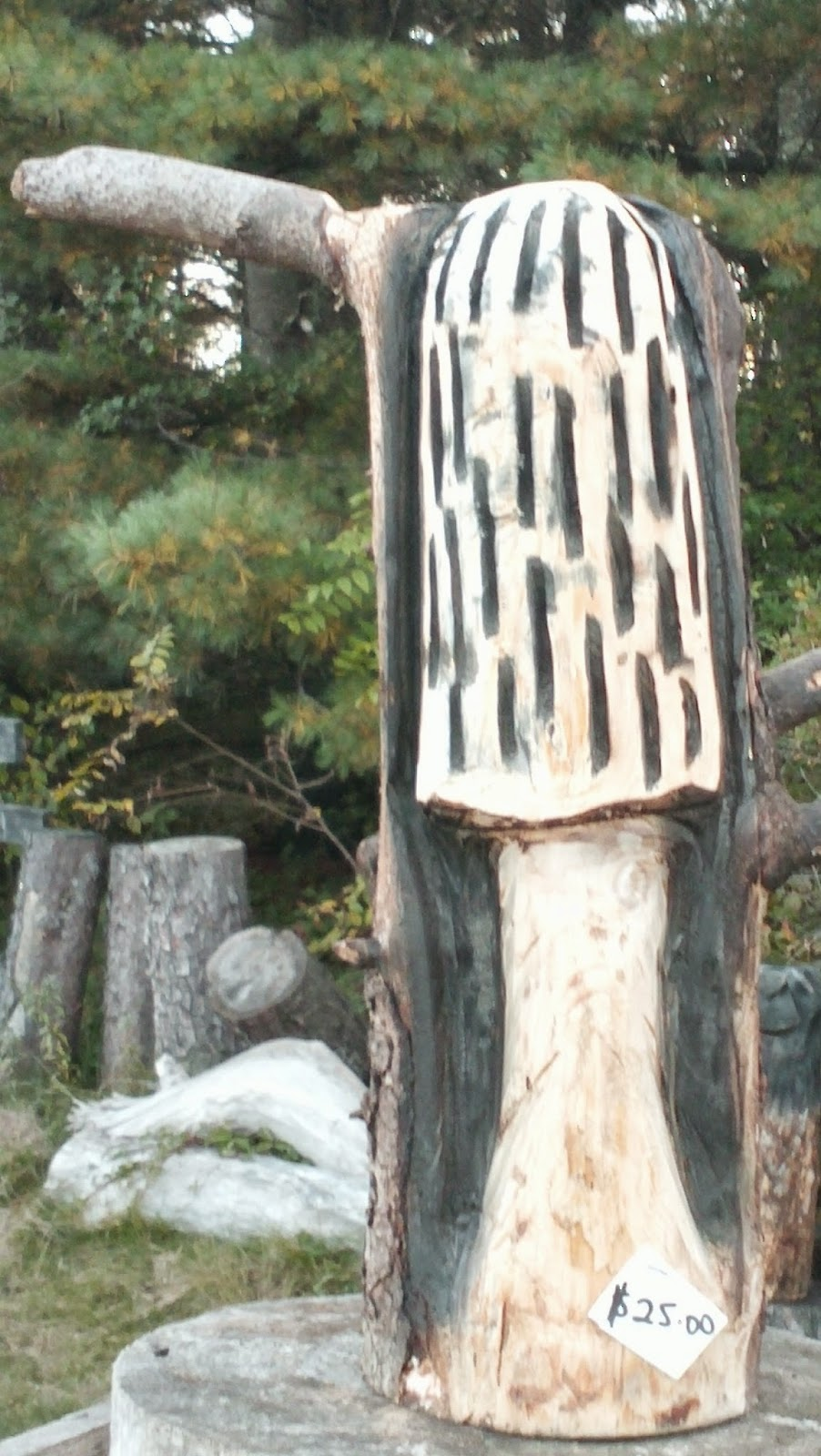 Ritlways chainsaw carvings
