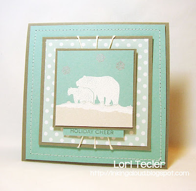 Woodland Holiday Cheer-designed by Lori Tecler-Inking Aloud-stamps from Clear and Simple Stamps
