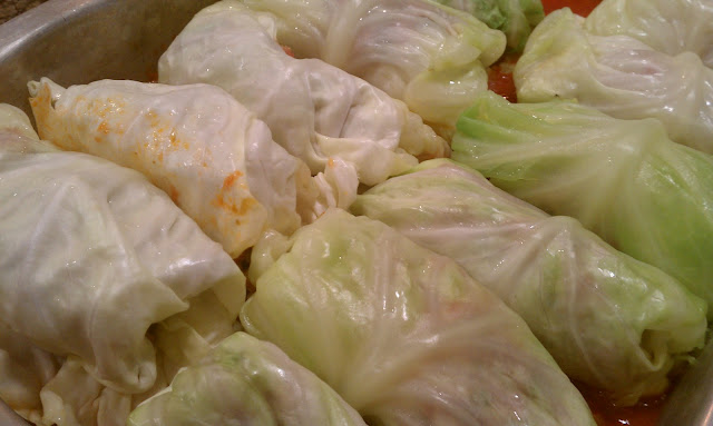 Recipe: Savory Stuffed Cabbage (Cavolo Ripieno)