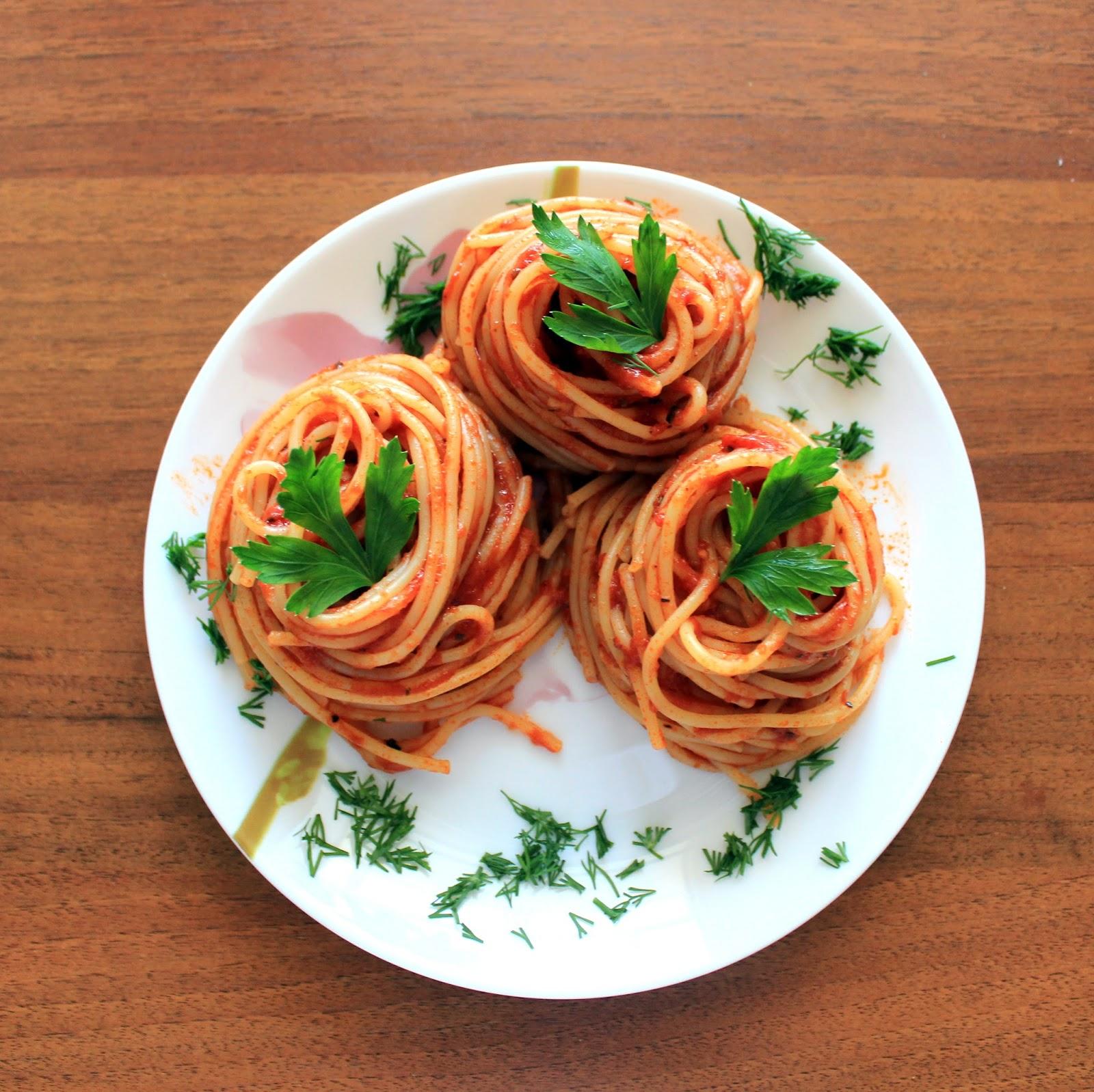 Как сделать вермишель в томатном соусе