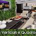 Jardins Verticais e Quadros Vivos na Decoração de Interiores!