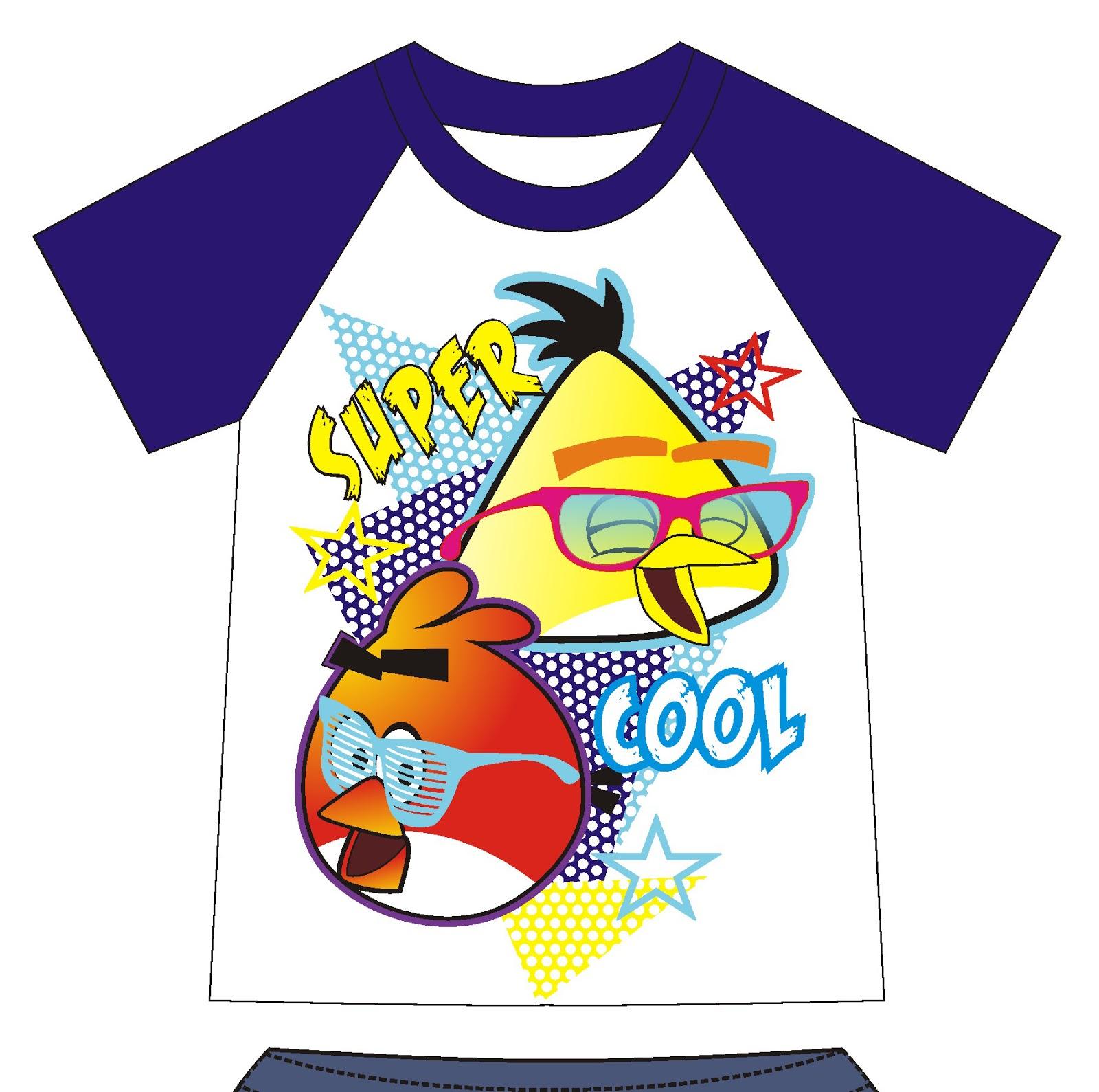 pecah warna dan cabut warna contoh sket baju anak sket
