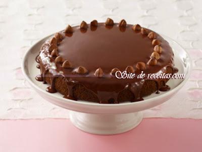 Receita de recheio e cobertura de chocolate