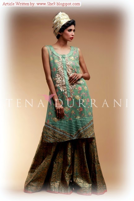 Tena Durrani Midsummer Dress Collection 2014