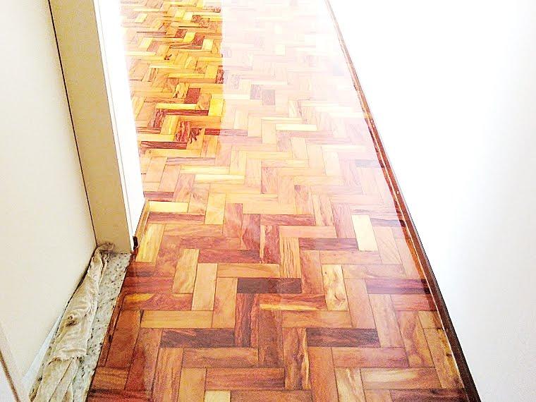 Taco Sintecado - restauração de pisos em Brasília DF