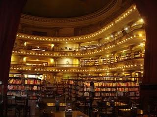 Livraria El Atheneu em Buenos Aires