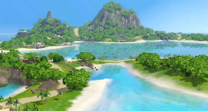 The Sims 3 Store Sunlit Tides Deluxe