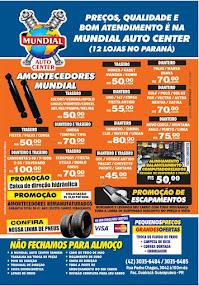 Em Guarapuava tem Mundial Auto Center.