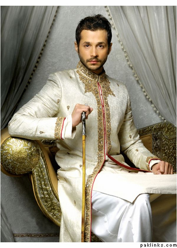 New fashion mall indian wedding dresses for men for Wedding dress shirts for groom