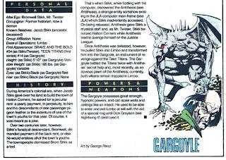 Gargola (ficha dc comics)