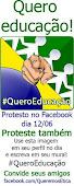 protesto sobre educação.
