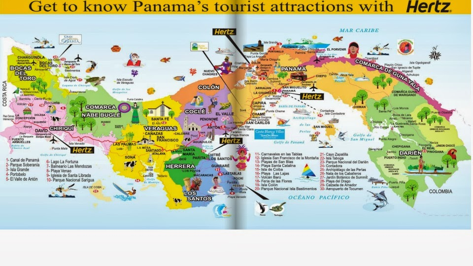 Panama Frequently Asked Questions answered by Locals Questions – Panama Tourist Attractions Map