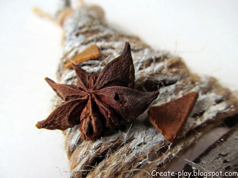 Деревянные звезды из веток
