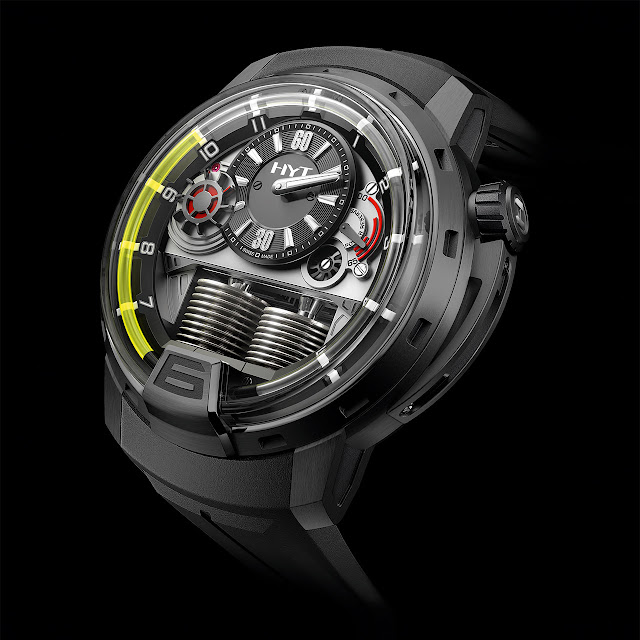 HYT H1 Black DLC Watch