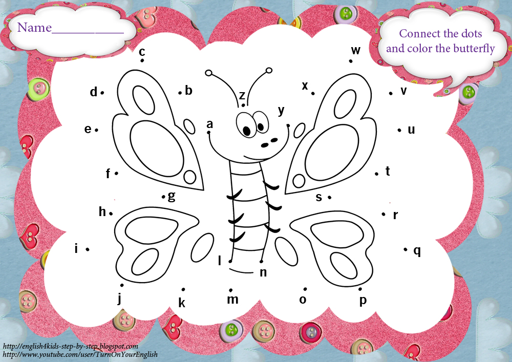 math worksheet : butterfly song  coloring pages and worksheets  : Kindergarten Abc Worksheets