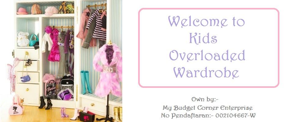 Kids Overloaded Wardrobe
