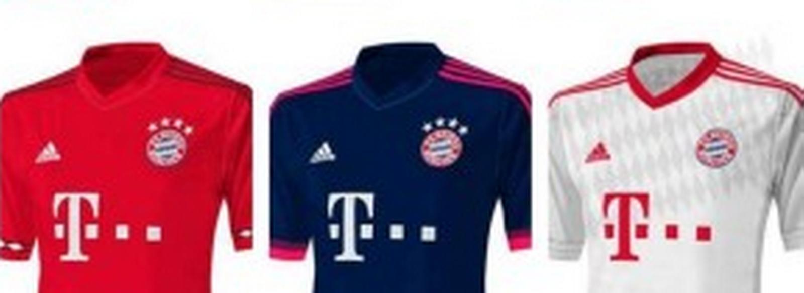 segunda equipacion FC Bayern München baratos