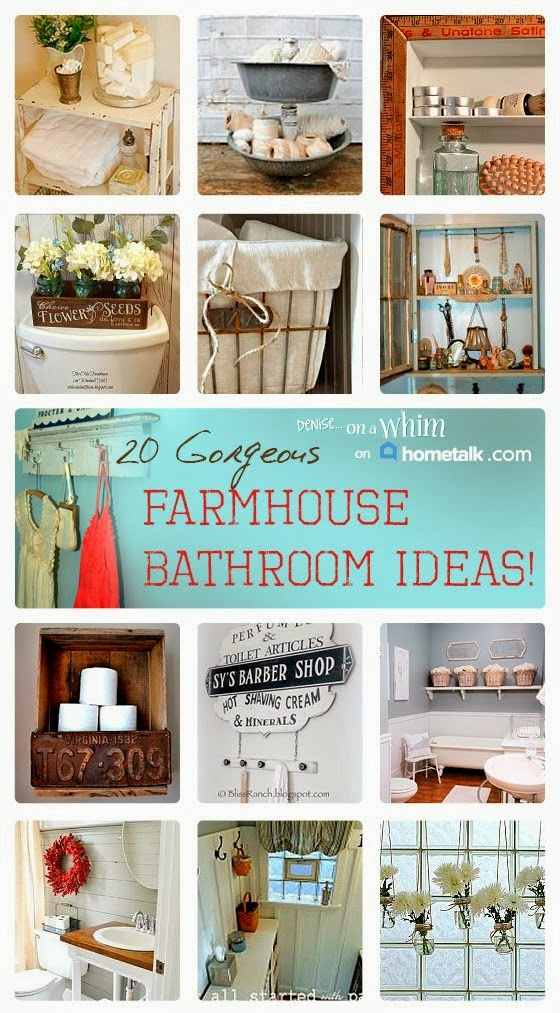 Fabulous Farmhouse Bathrooms on Hometalk!