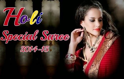 Holi Special Sarees 2014