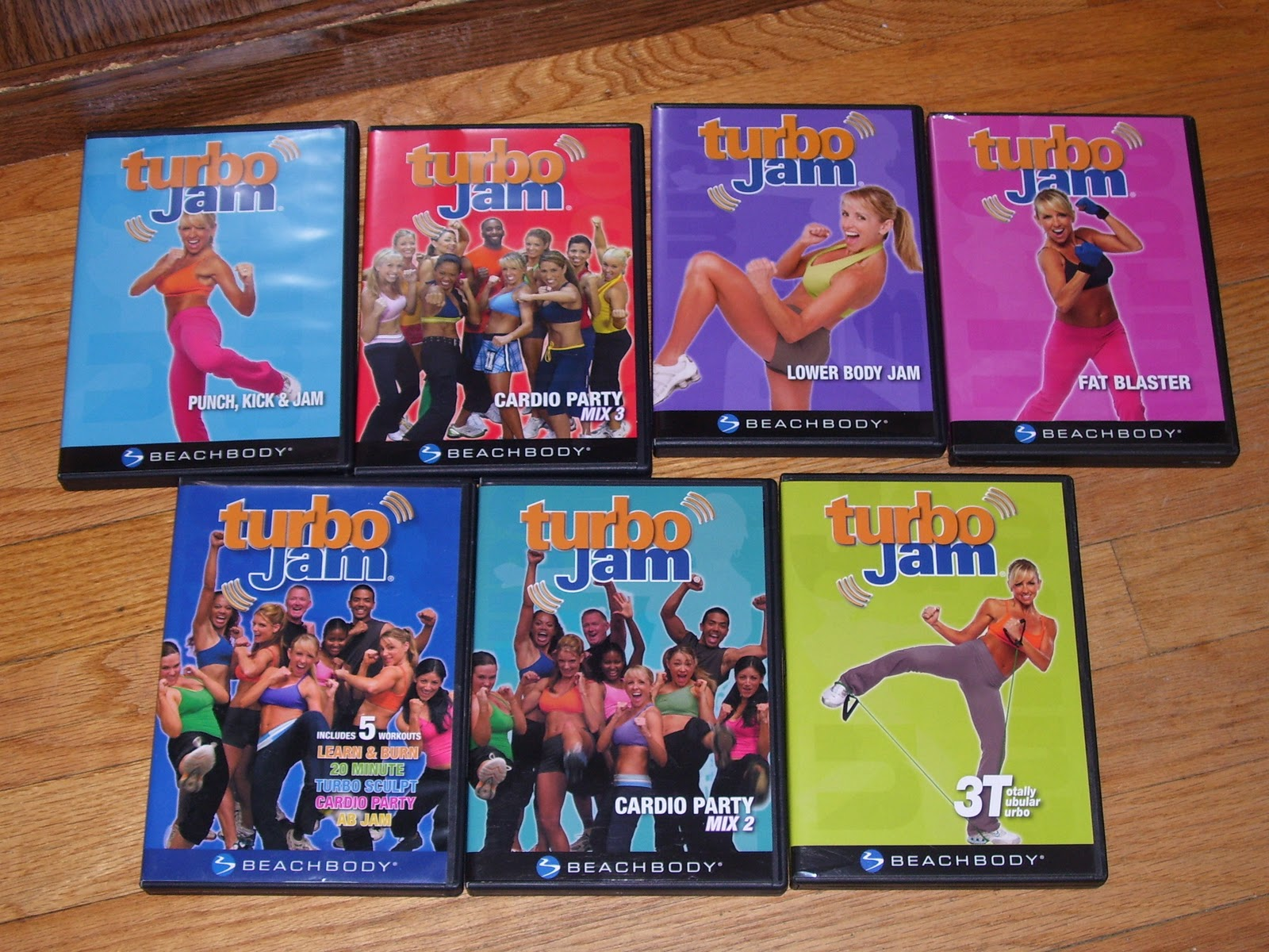 ... me. I LOVE turbo jam because almost every move engages your core
