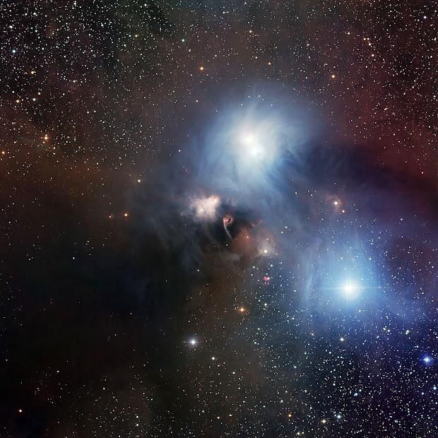 The R Coronae Australis region imaged with ESO's WFI