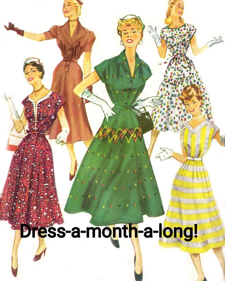 Vintage Sew A Dress A Month 2020