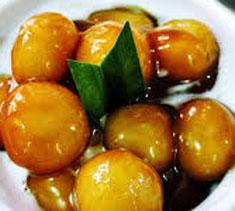 Resep makanan indonesia kolak biji salak spesial (istmewa) praktis mudah legit, sedap, enak, nikmat lezat