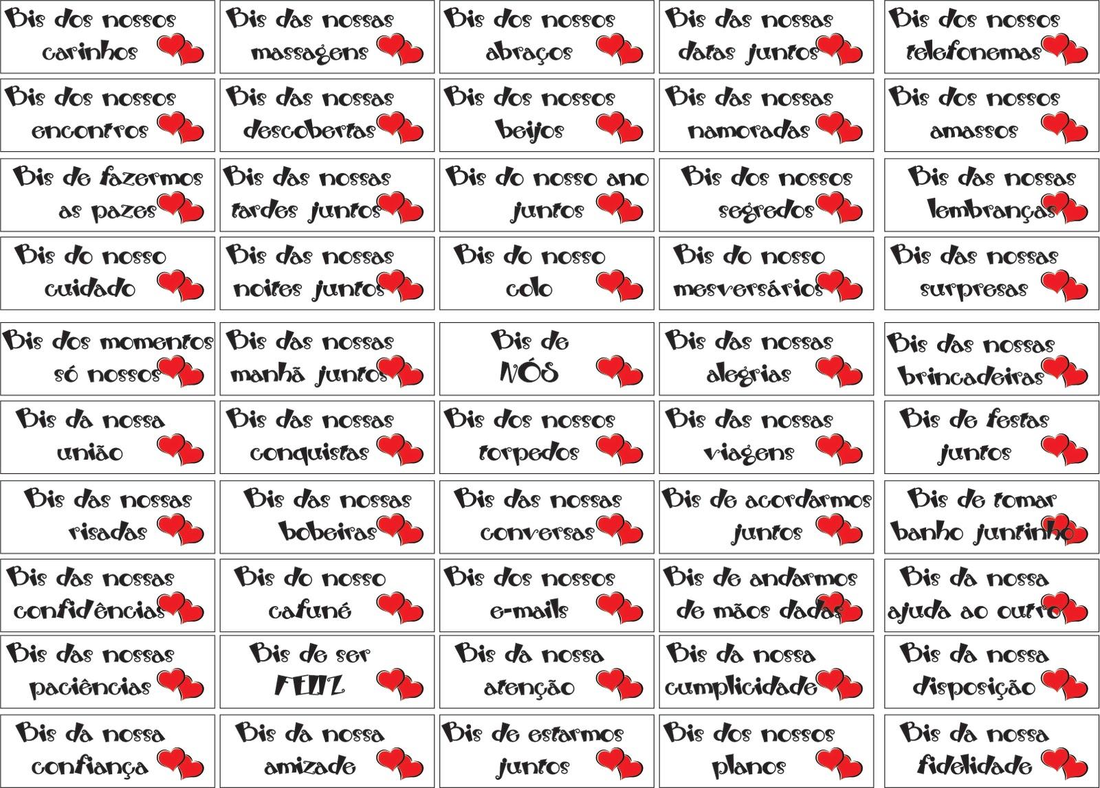 Arquivo de Janeiro 2012 Surpresas para Namorados