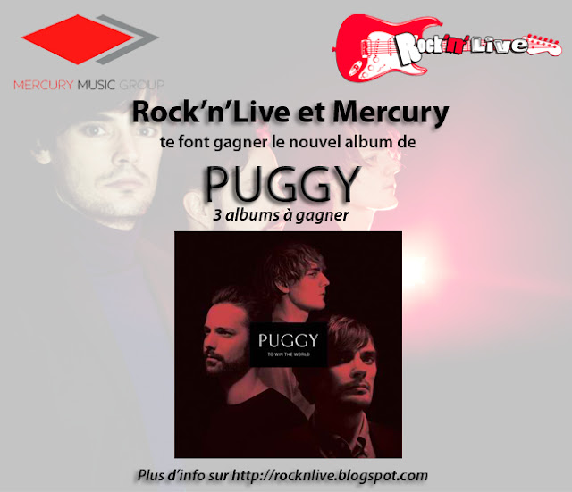 Puggy To Win the World Rock'n'Live Mercury Concours 2013 Album