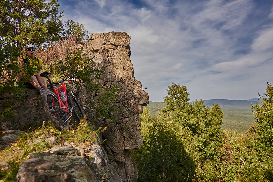В гору, отдохнуть