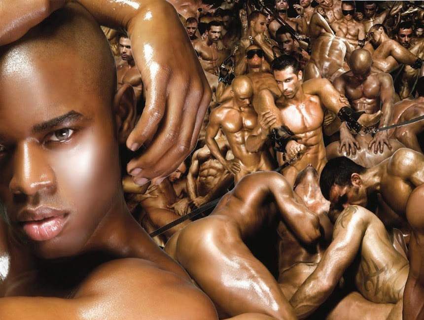 Gay sex black slave