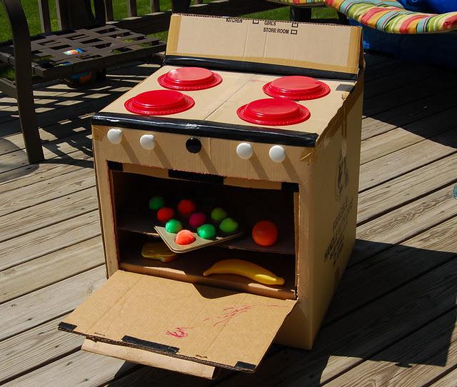 Como Fazer Brinquedos de Papelão