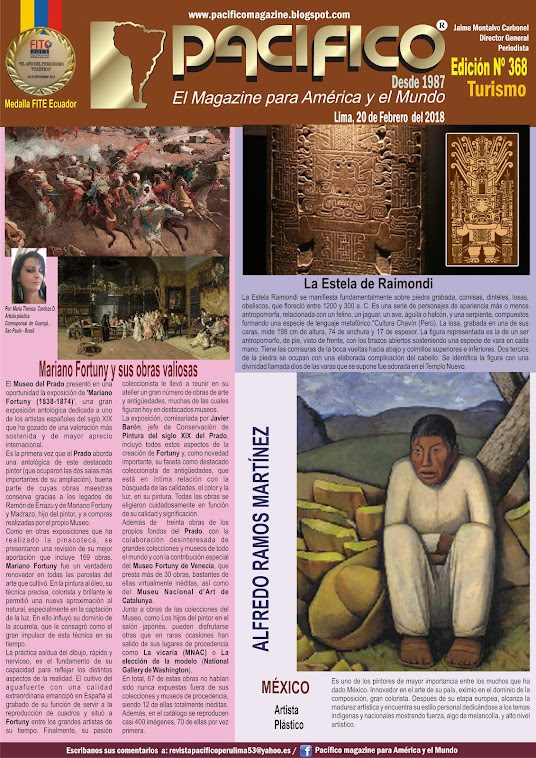 Revista Pacífico Nº 368 Turismo