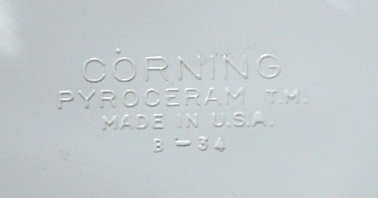 Corningware 411 Corning Ware Marks And Mayhem General