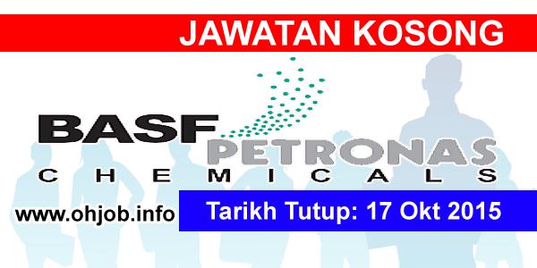 Jawatan Kerja Kosong BASF PETRONAS Chemicals Sdn Bhd logo www.ohjob.info oktober 2015