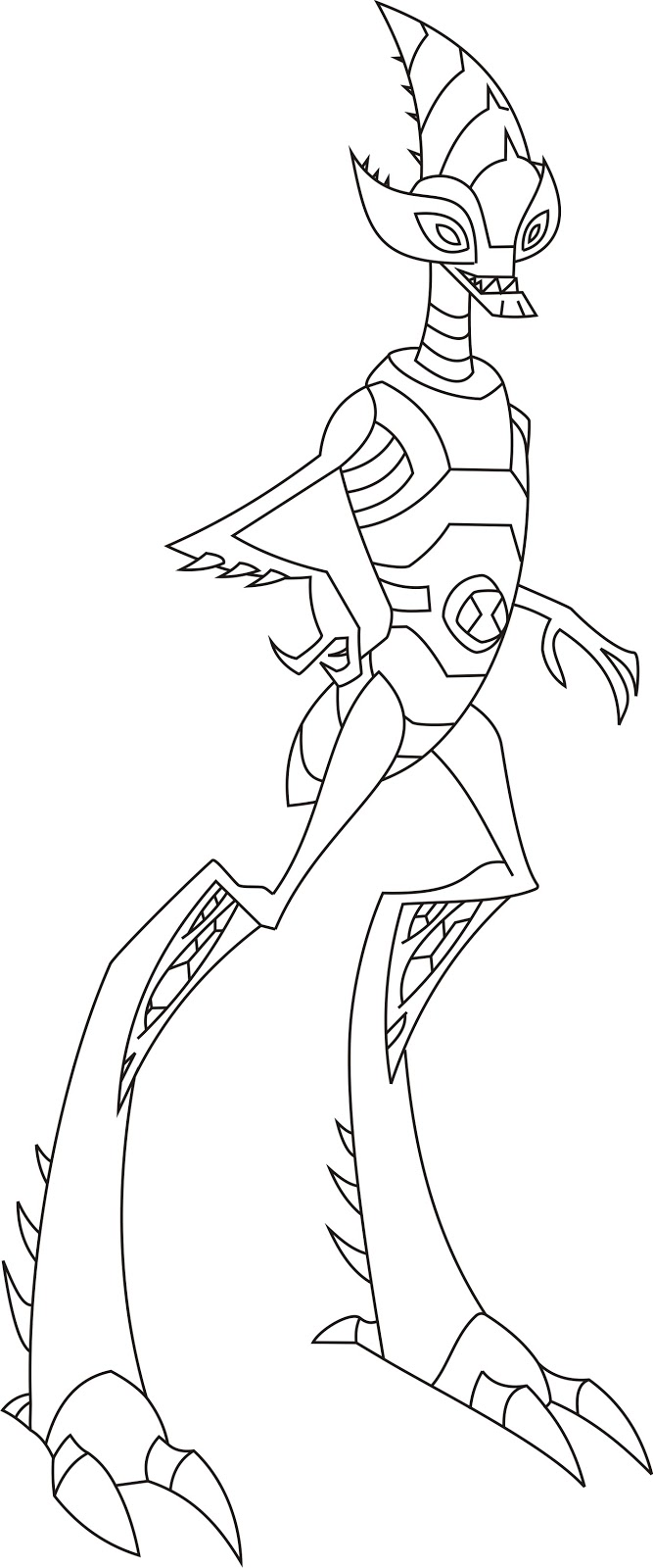 Ben 10 omniverse aliens games free coloring pages for Ben 10 coloring pages games