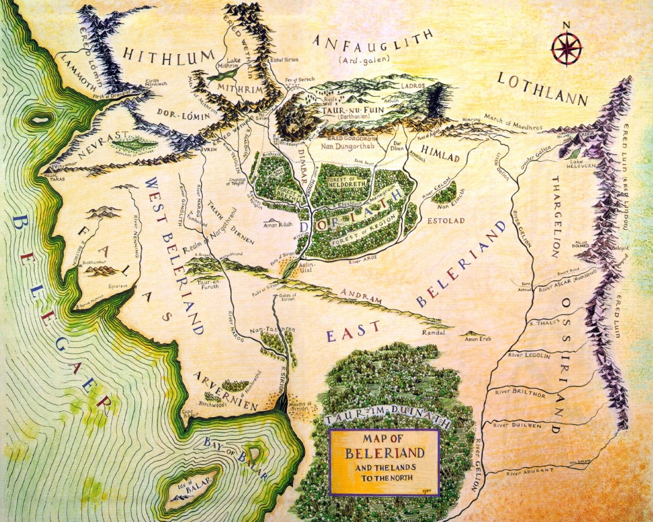 Elves (Middle-earth): history, names. Stories of Middle-earth 2