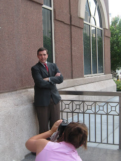 Photo Shoot with Chesni Cooper and Jim Evans Houston Family Lawyer